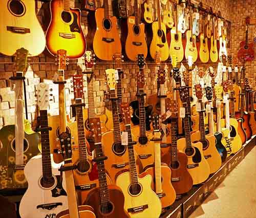 Acoustic-Guitar-Display