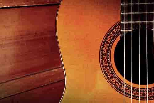 Close-up of Classical Guitar